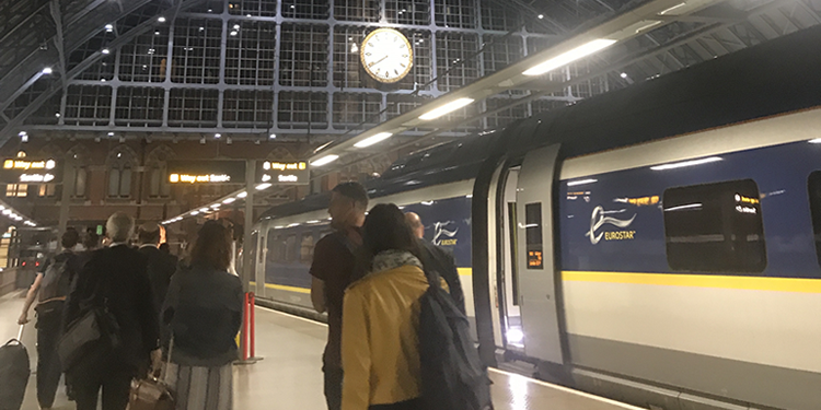 Travelling with Eurostar with your bike